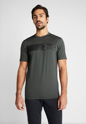 RAID GRAPHIC - T-shirt med print - baroque green/black