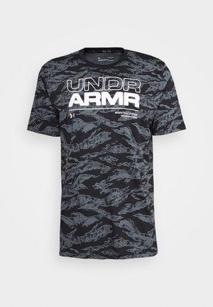 BASELINE TEE BASKETBALL - T-shirt med print - black/white