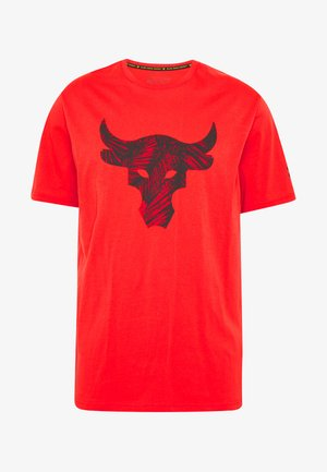 PROJECT ROCK BRAHMA BULL  - Print T-shirt - versa red/black