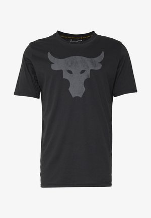 PROJECT ROCK BRAHMA BULL  - T-shirt med print - black/pitch gray