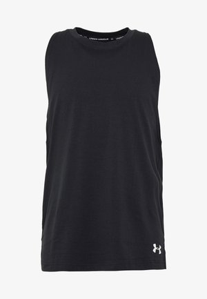 UA BASELINE  - Koszulka sportowa - black/white