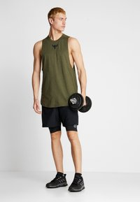 Under Armour - PROJECT ROCK CHARGED COTTON TANK - Top - guardian green/black - 1