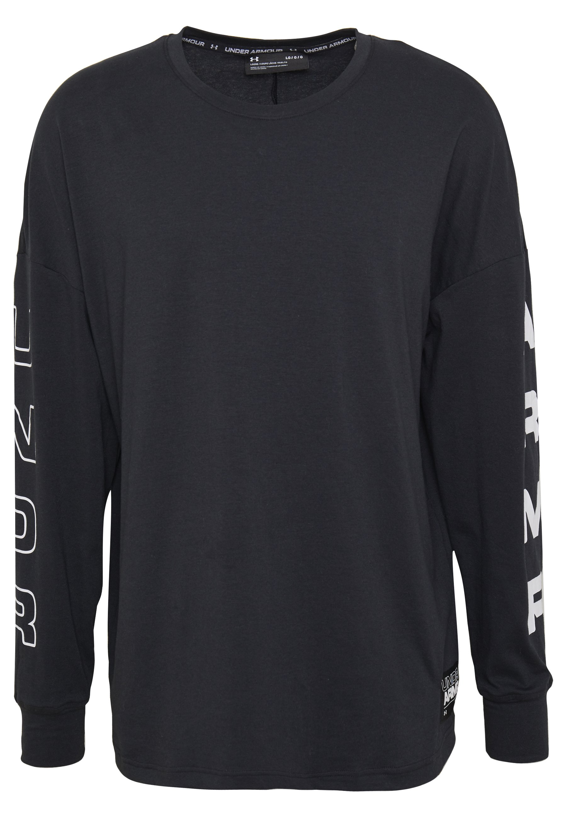 Under Armour Moments Tee - T-shirt À Manches Longues Black/white
