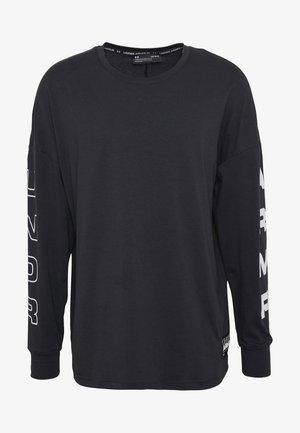 MOMENTS TEE - Långärmad tröja - black/white