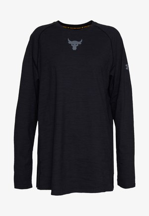 PROJECT ROCK CHARGED - Langarmshirt - black/pitch gray