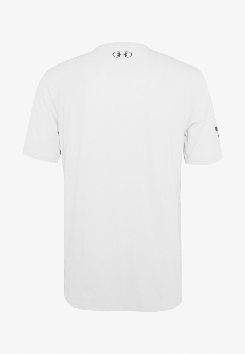 Under Armour - PROJECT ROCK MAHALO - T-shirt con stampa - light grey