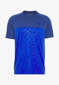 Under Armour - T-shirt con stampa - american blue/versa blue - 4