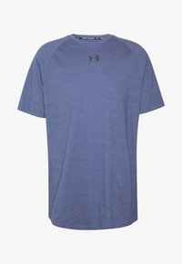 Under Armour - CHARGED - T-shirt basic - blue ink/black - 3