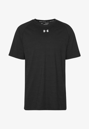 CHARGED - T-shirt imprimé - black/white