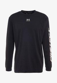 Under Armour - UA PTH SLEEVE LS - Sportshirt - black/onyx white - 4