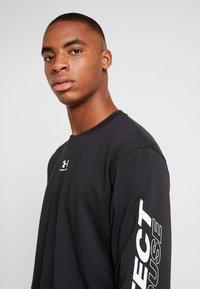 Under Armour - UA PTH SLEEVE LS - Sportshirt - black/onyx white - 3