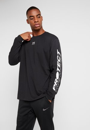 UA PTH SLEEVE LS - Sports shirt - black/onyx white