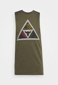 Under Armour - PROJECT ROCK MANA TANK - Top - guardian green/black - 5