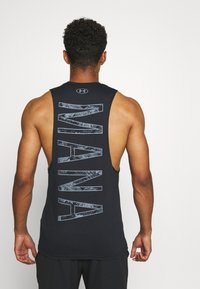 Under Armour - PROJECT ROCK MANA TANK - Top - black/summit white - 2