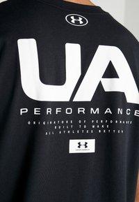 Under Armour - ORIGINATORS SHOULDER - T-shirt con stampa - black/onyx white - 3