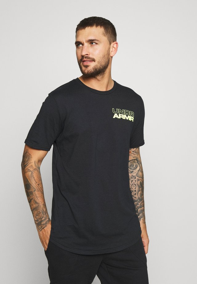 BASELINE PHOTOREAL GRAPHIC TEE - T-shirt con stampa - black/x-ray