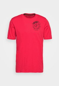 Under Armour - PROJECT ROCK IRON PARADISE  - T-shirt sportiva - versa red/black - 0