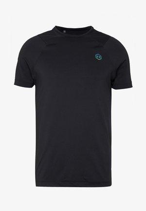 RUSH FITTED  - T-shirt basic - black
