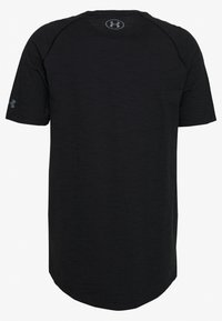 Under Armour - PROJECT ROCK CHARGED - T-shirt print - black/pitch gray - 1