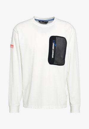 LONG SLEEVE - T-shirt à manches longues - onyx white / black / beta