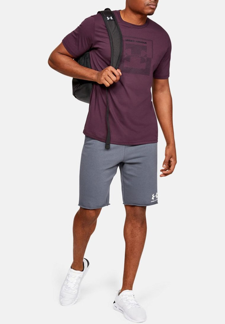 Under Armour - T-Shirt print - purple