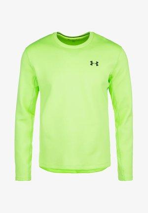 QUALIFIER COLDGEAR - Maglietta a manica lunga - lime light