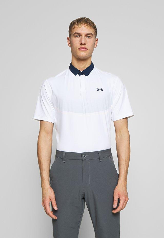 ISO-CHILL GRAPHIC - T-shirt de sport - white/halo gray/academy