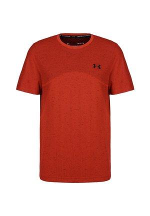 SEAMLESS  - T-shirt imprimé - red