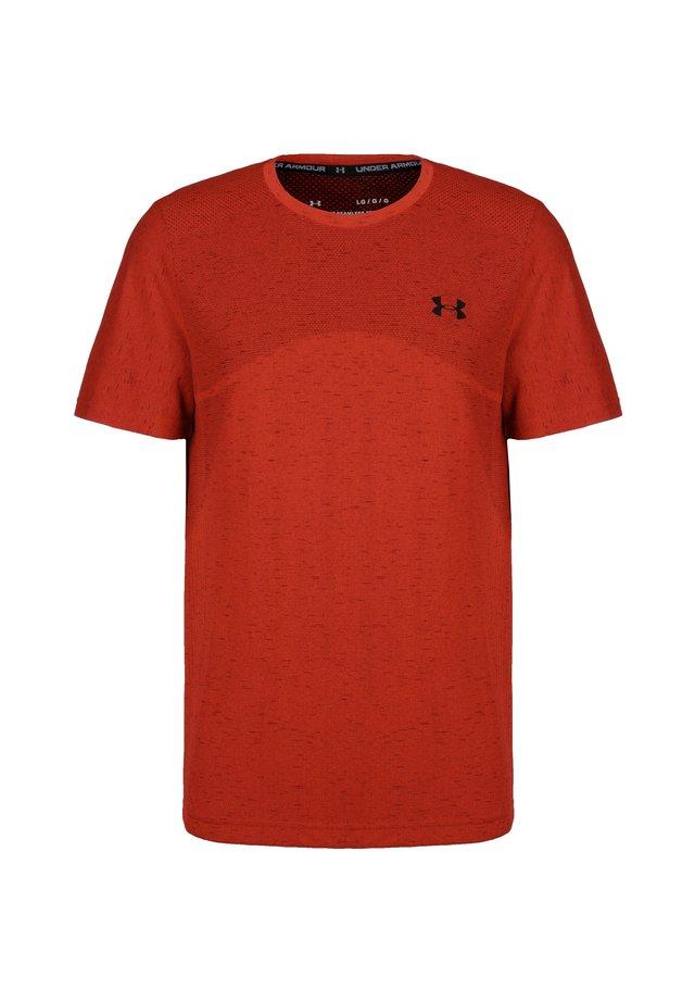 SEAMLESS  - Print T-shirt - red