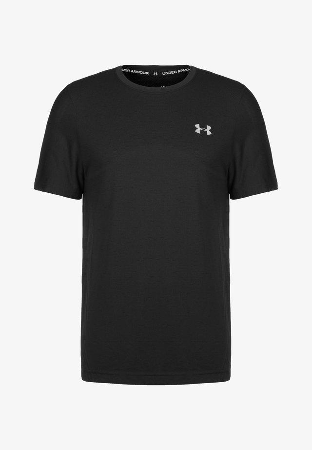 SEAMLESS  - Print T-shirt - black