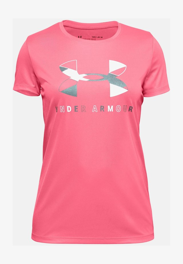 TECH GRAPHIC - Print T-shirt - eclectic pink