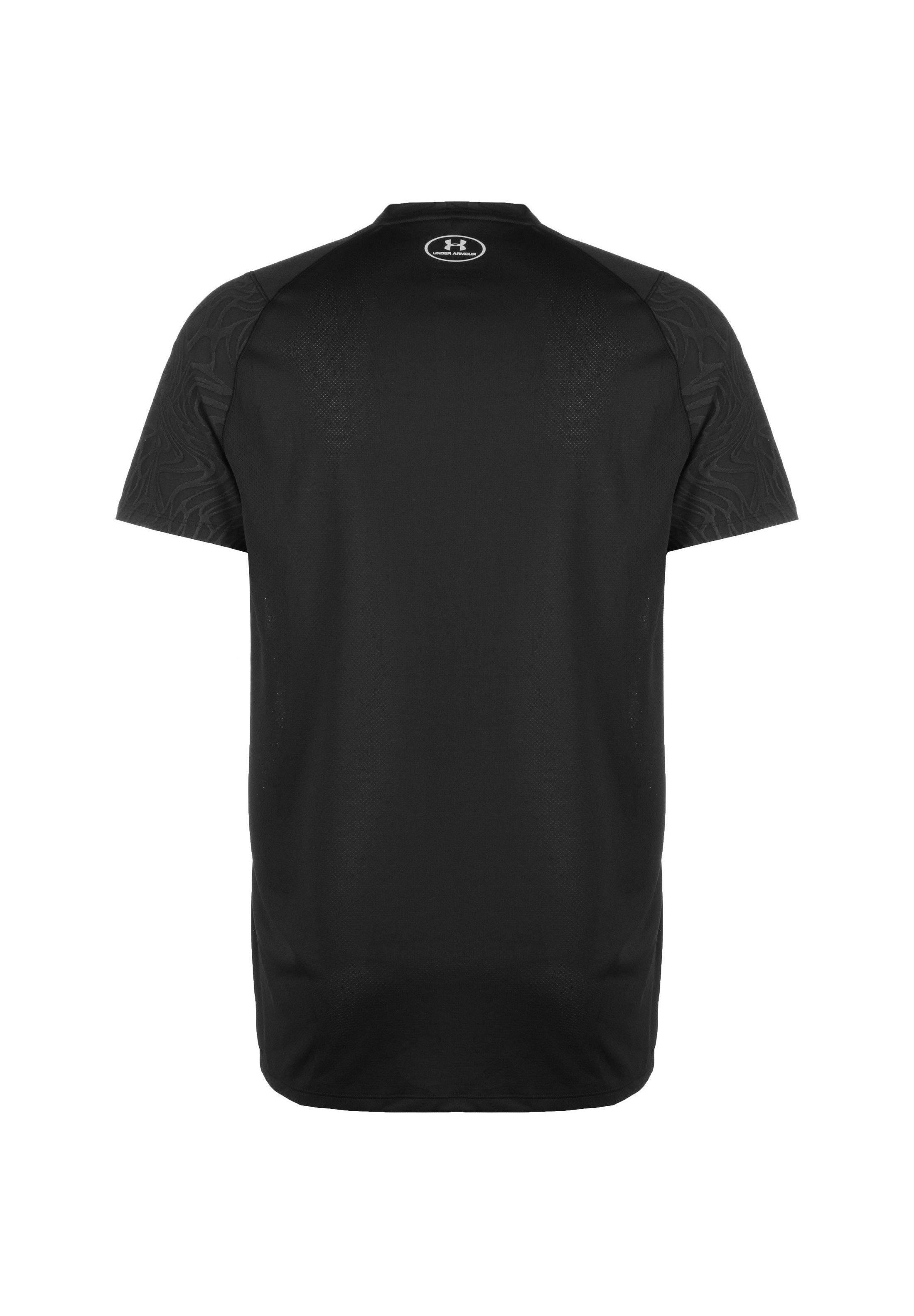 Under Armour Mk-1 Trainingsshirt Damen - Basic T-shirt Black