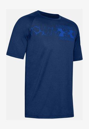 Print T-shirt - american blue