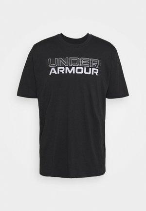 BLURRY LOGO WORDMARK  - T-shirt print - black/mod gray