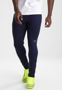 Under Armour - Tracksuit bottoms - midnight navy - 0