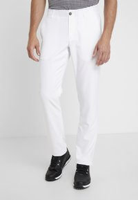 Under Armour - TAKEOVER GOLF PANT TAPER - Chinot - white - 0