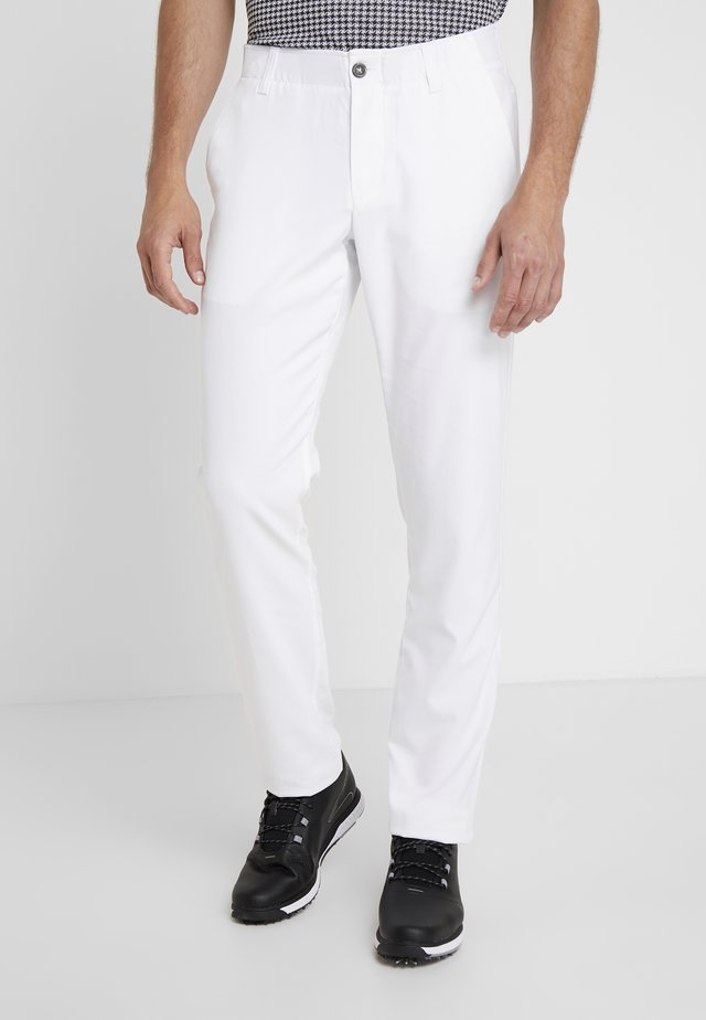 TAKEOVER GOLF PANT TAPER - Chino - white