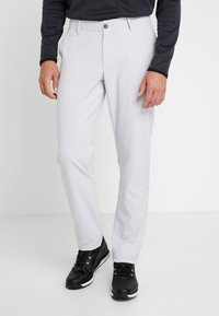 Under Armour - TAKEOVER GOLF PANT TAPER - Chinot - halo gray - 0
