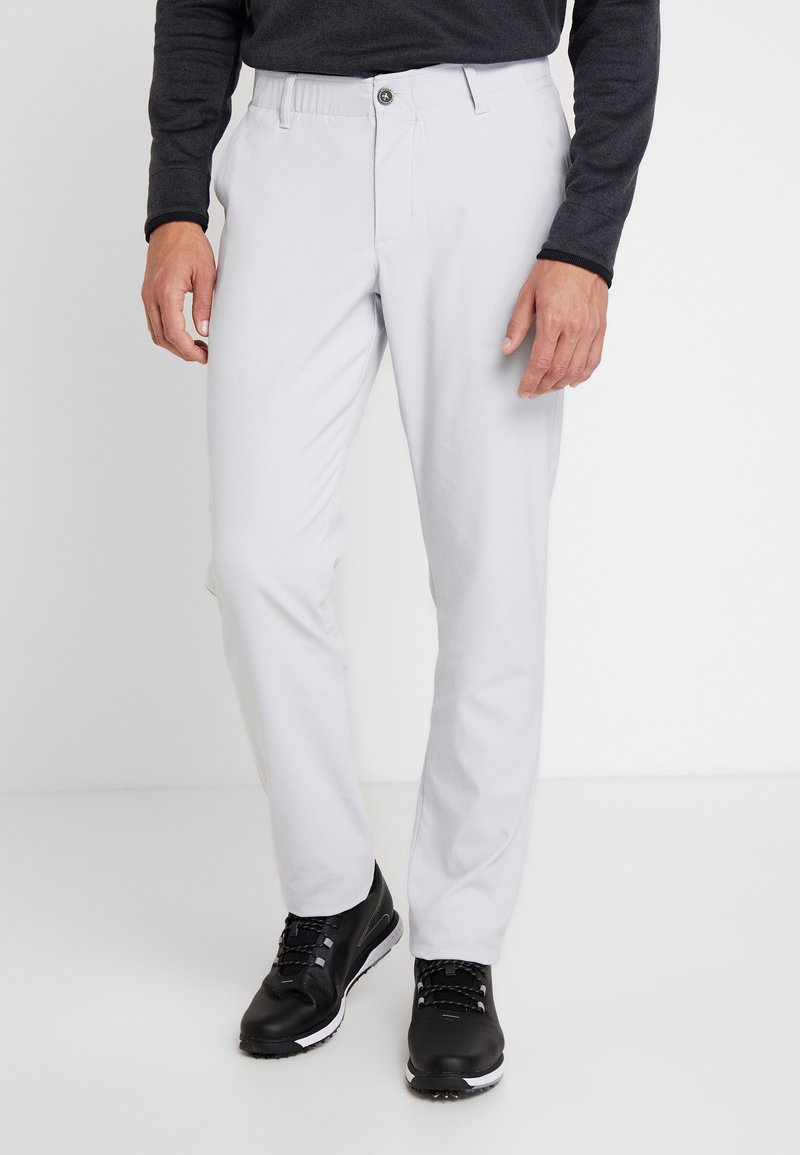 Under Armour - TAKEOVER GOLF PANT TAPER - Chinot - halo gray