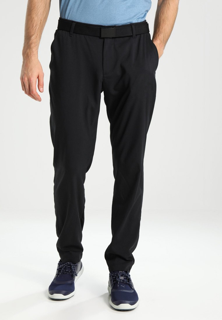 Under Armour - TAKEOVER GOLF PANT TAPER - Chino - black