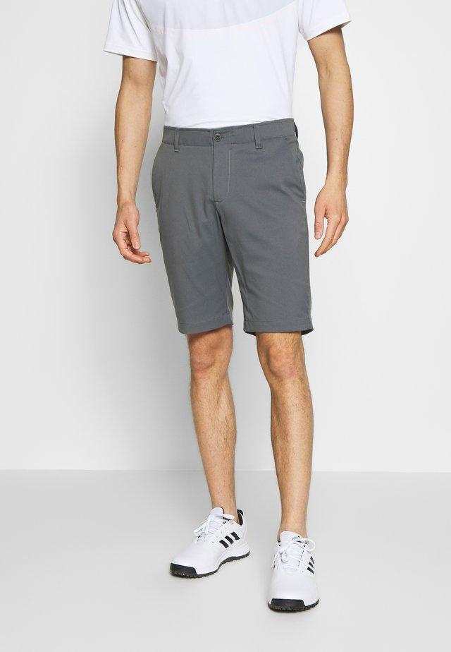 TAKEOVER GOLF SHORT TAPER - Short de sport - pitch gray