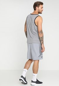 Under Armour - Sports shorts - steel/black - 2