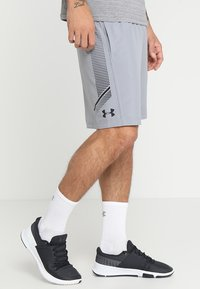 Under Armour - Sports shorts - steel/black - 0