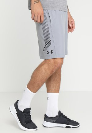 Sports shorts - steel/black