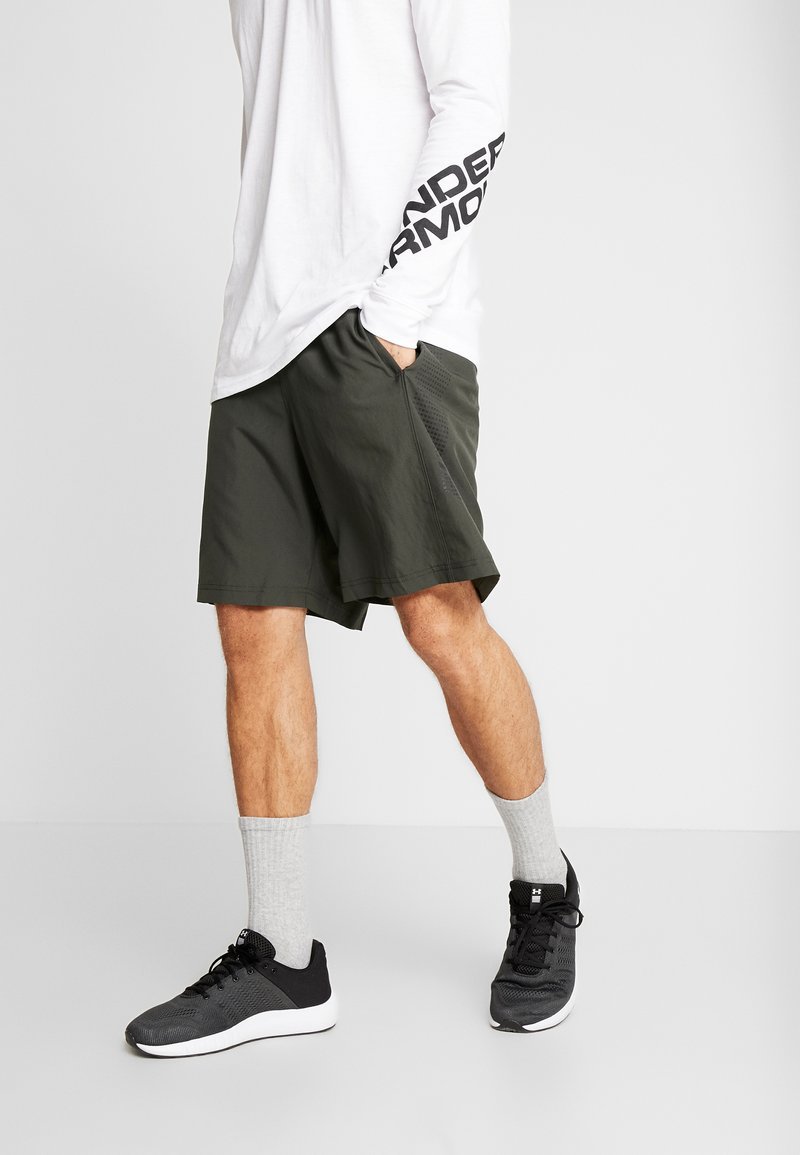 Under Armour - GRAPHIC SHORT - Short de sport - baroque green/black