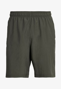 Under Armour - GRAPHIC SHORT - Träningsshorts - baroque green/black - 3