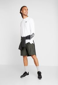 Under Armour - GRAPHIC SHORT - Träningsshorts - baroque green/black - 1