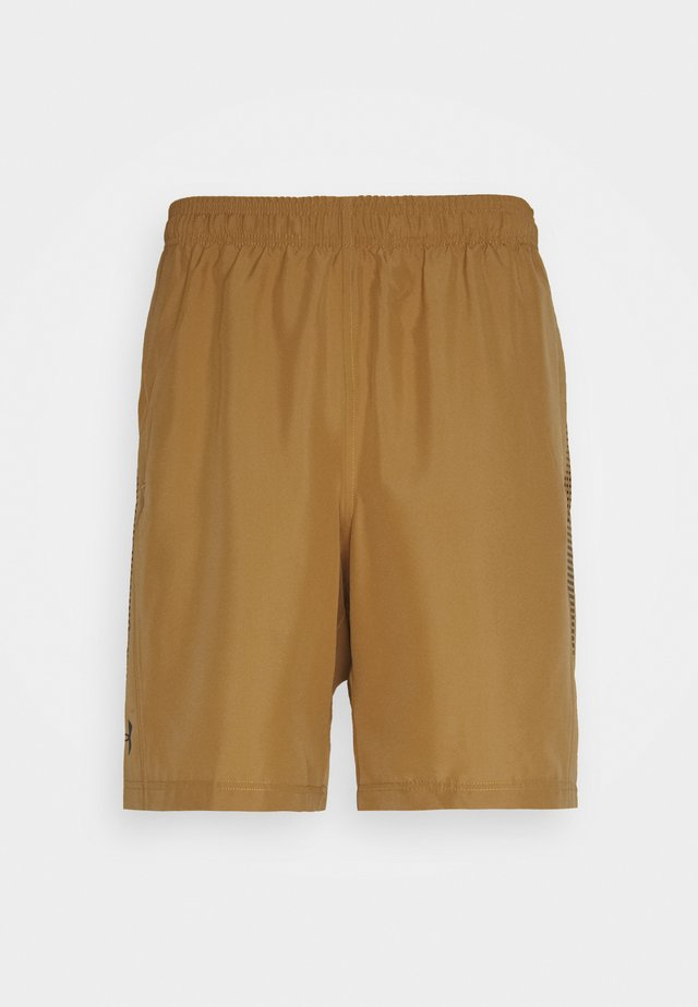 GRAPHIC SHORTS - Urheilushortsit - yellow ochre