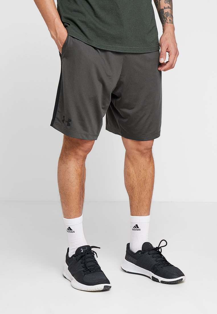 Under Armour - RAID 2.0 SHORT - Urheilushortsit - baroque green/black