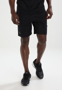 Under Armour - MK1 SHORT - Korte broeken - black - 0